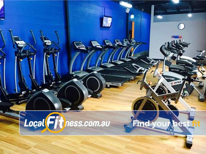Plus Fitness 24/7 Carlingford Beecroft Our cardio area includes treadmills, cross trainers, cycle bikes and more.
