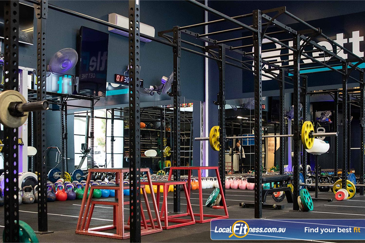 KettleFit Near St Kilda Our fully equipped and dedicated Windsor HIIT gym.