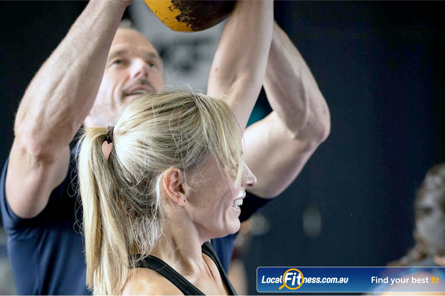 KettleFit Near Balaclava Our Windsor personal trainers will inspire you to regain your power with Kettlebells.