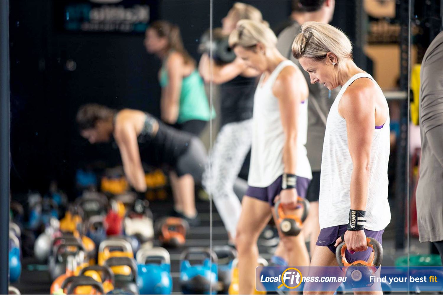 KettleFit Windsor At KettleFit we think differently, so we can challenge you in different ways.