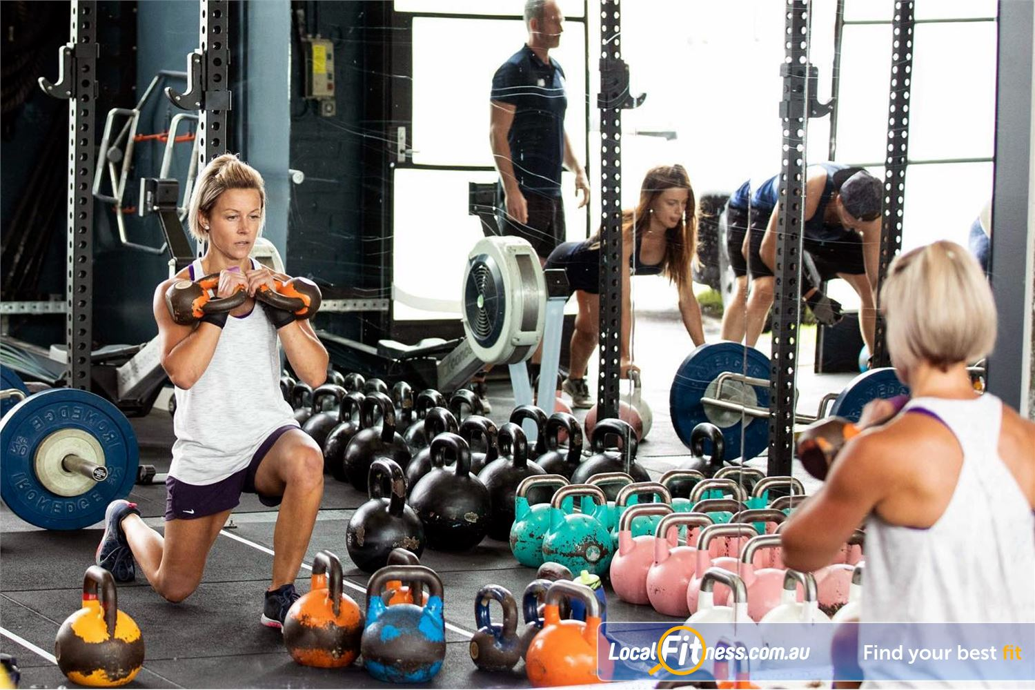 KettleFit Near St Kilda Our HIIT classes focus on improving your functional fitness.