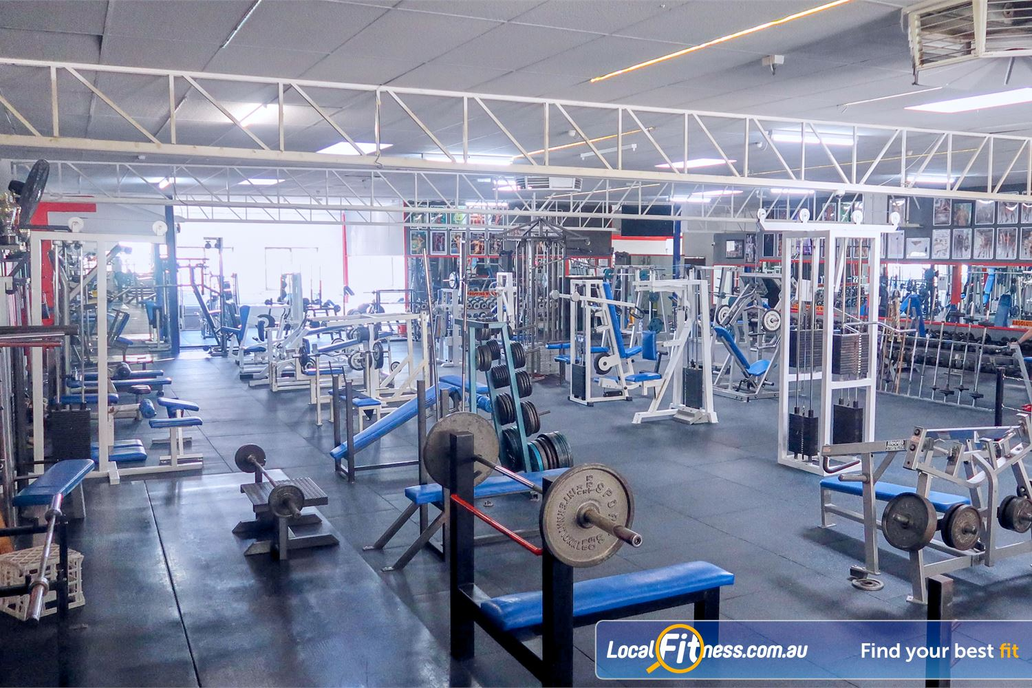 Tabban Muscle & Body Shape Near Toorak You will be inspired and motivated in our old school Richmond gym.