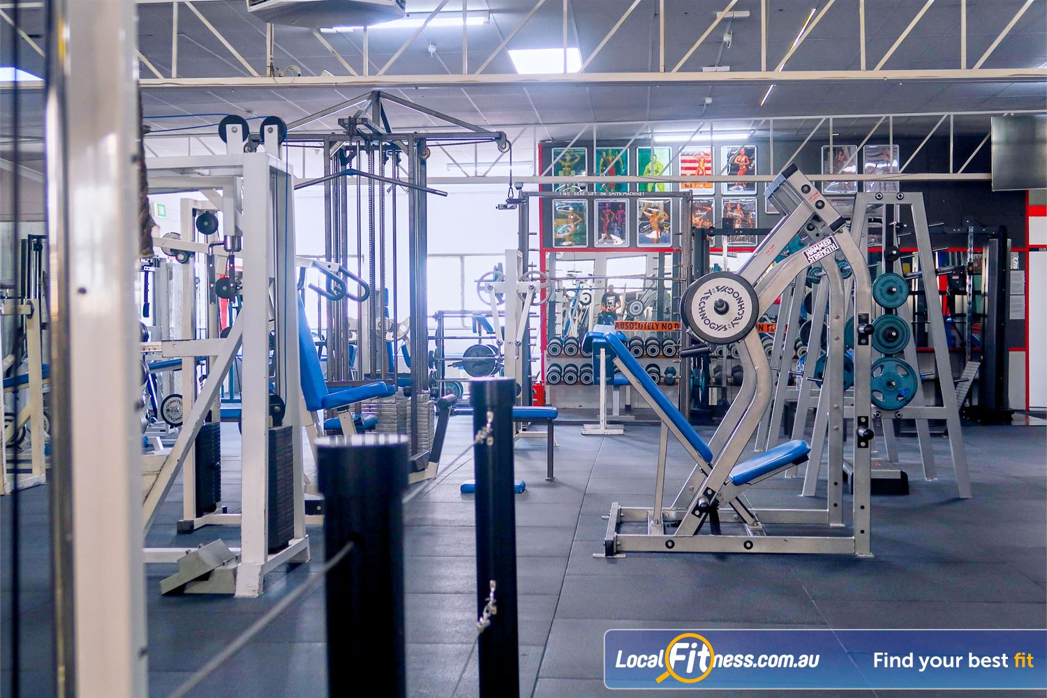 Tabban Muscle & Body Shape Near South Yarra Our Richmond gym includes a full range of pin and plate-loading machines.