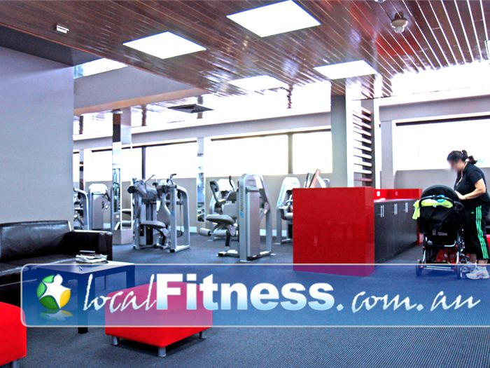 Genesis Fitness Clubs @ The Clock Tower Gym Salisbury  | A spacious area for our valued gym members.