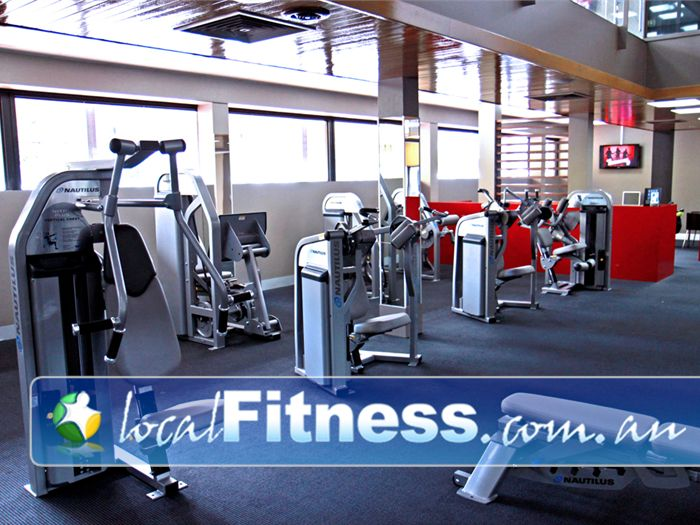 Genesis Fitness Clubs @ The Clock Tower Near Hillbank At Genesis Elizabeth gym, enjoy a time-efficient workout with the Nautilus Expressway.