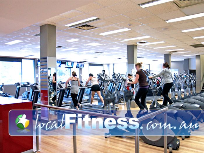 Genesis Fitness Clubs @ The Clock Tower Elizabeth Our Elizabeth gym has rows of machines so you'll never have to wait.