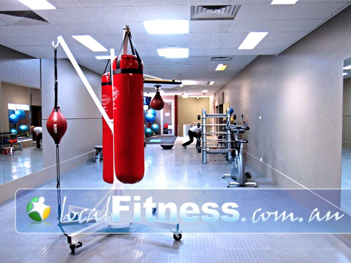 Genesis Fitness Clubs @ The Clock Tower Near Davoren Park South The spacious and dedicated Elizabeth personal training zone on level 3.