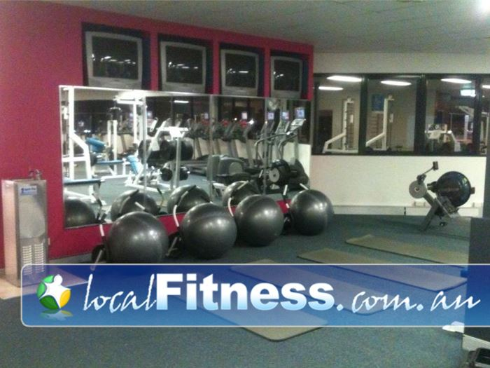 Fernwood Fitness Near Birkdale The new bright and vibrant colours and layout at Fernwood Capalaba.