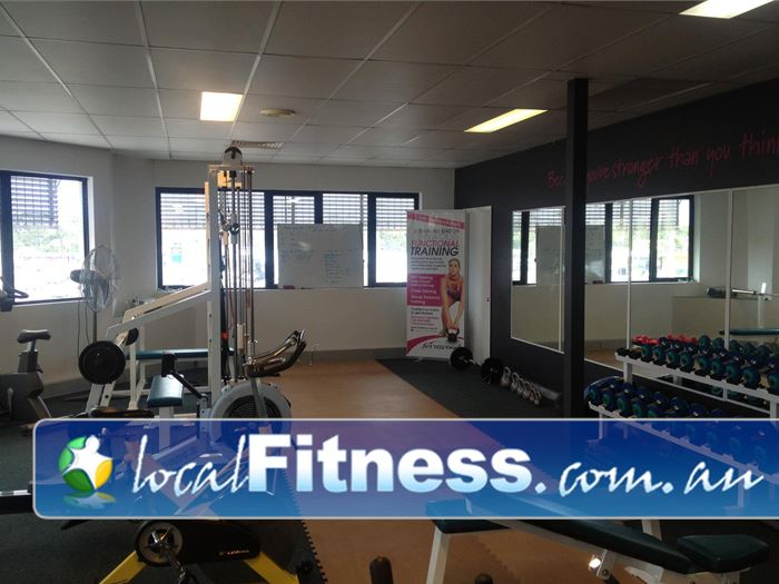 Fernwood Fitness Capalaba Our 24 hour Capalaba gym includes a comprehensive free-weights area.