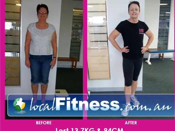 Fernwood Fitness Capalaba Capalaba personal trainers can help you make amazing transformations like this.