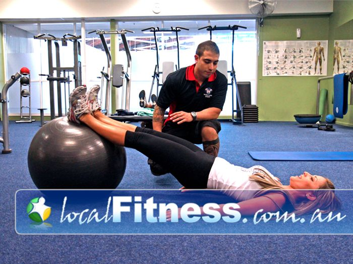 World Gym Near Condell Park Firm that core and tone those abs with Bankstown personal training.
