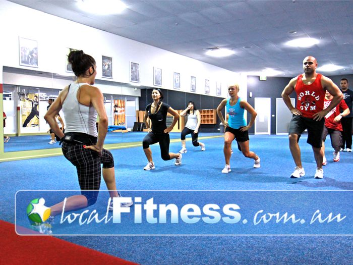 World Gym Near Riverwood Showcasing Bankstown's best classes including Les Mills.