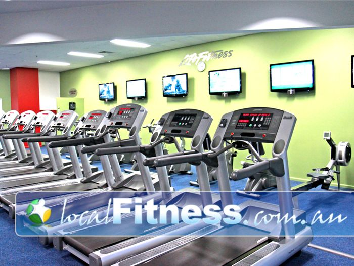 World Gym Bankstown A great range of private ladies only treadmills, rowers in the ladies cardio area.