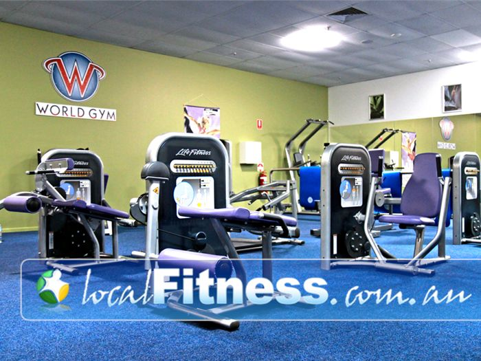 World Gym Near Riverwood World Gym Ladies World - a private place for women's fitness.