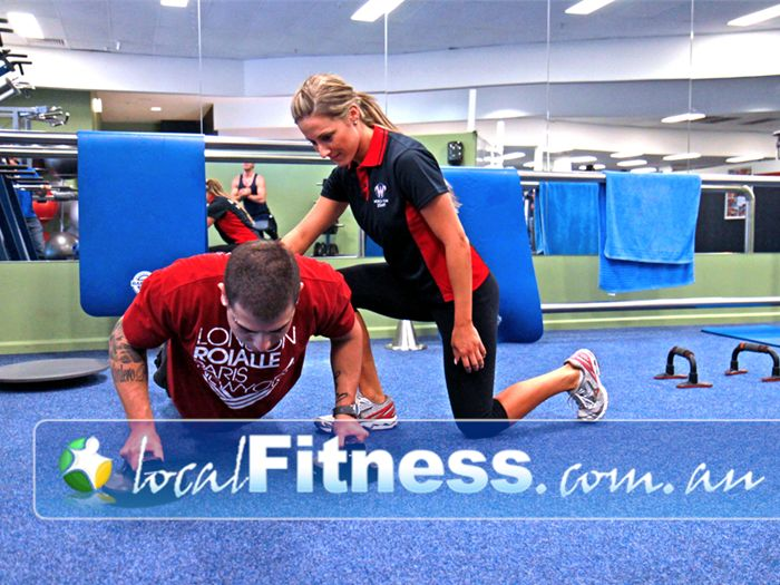 World Gym Near Condell Park Personal trainers in Bankstown will help you tone and shape your body.