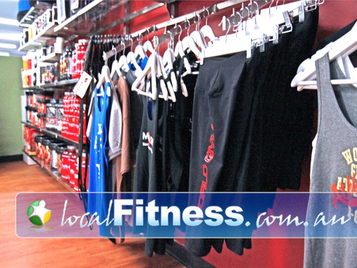 World Gym Bankstown Complement that new physique with the latest World Gym attire.