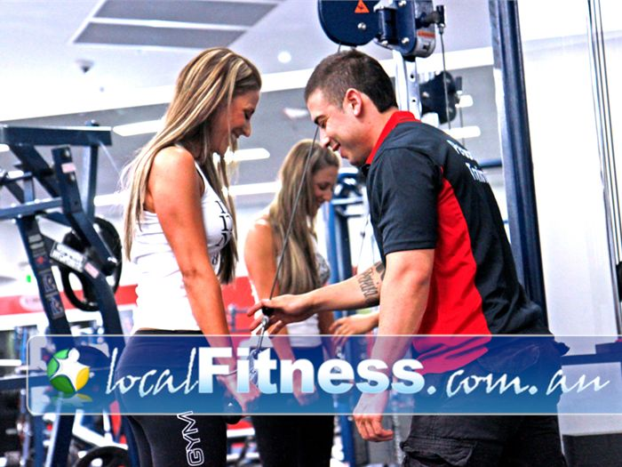 World Gym Near Riverwood Personal trainers in Bankstown will help you tone and shape your body.