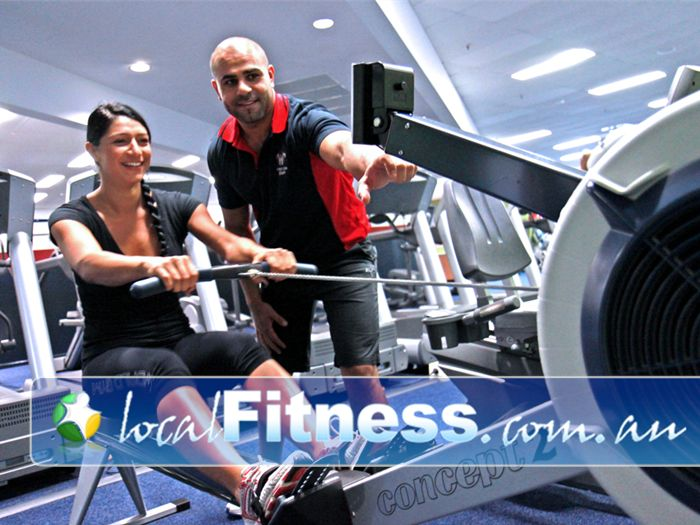 World Gym Bankstown Vary your cardio workout with indoor rowing on the latest concept2 rowers.