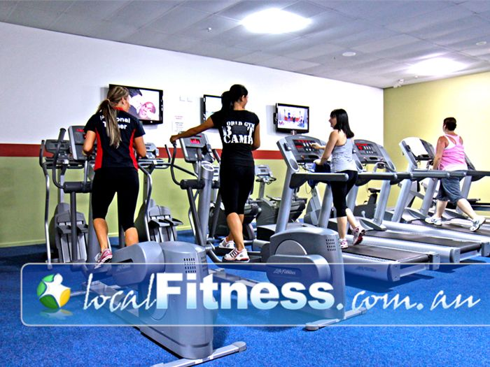 World Gym Bankstown A huge private ladies only cardio theatre area in Bankstown.