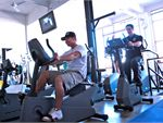 Apollo Gym Newport Gym CardioAmple pieces of cardio equipment.