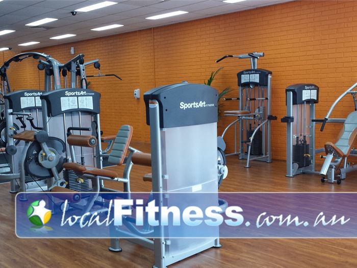 Plus Fitness 24/7 Gym Rosebery  | Easy to use pin-loading machines for every muscle.