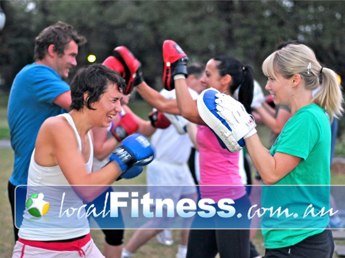 Realm Personal Training Near Reservoir We provide outdoor sessions without the military boot camp theme.
