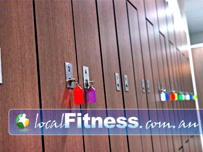 Genesis Fitness Clubs Lawnton Spacious and secure locker facilities for your valued belongings.