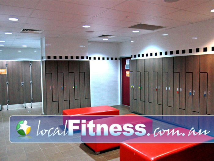 Genesis Fitness Clubs Near Murrumba Downs Spacious and pristine change rooms.