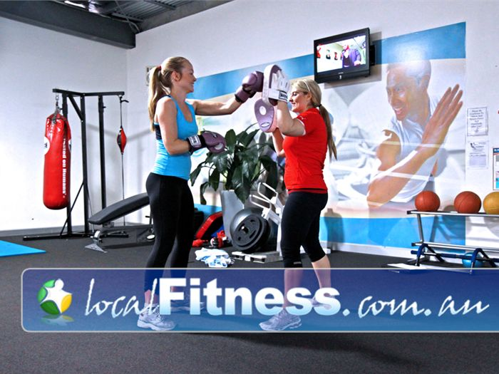 Genesis Fitness Clubs Near Petrie Challenge yourself and improve cardio with cardio boxing.