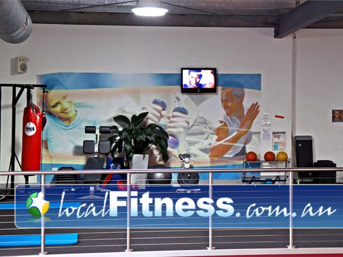 Genesis Fitness Clubs Near Murrumba Downs The spacious and dedicated Level 2 Lawnton personal training zone.