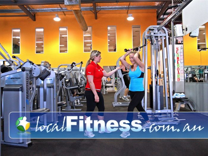 Genesis Fitness Clubs Near Murrumba Downs Lawnton gym instructors can help add variety to your workouts.