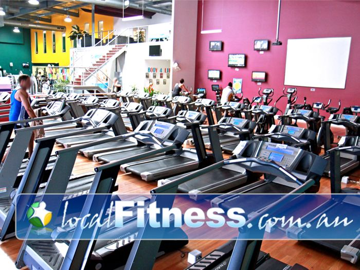 Genesis Fitness Clubs Near Petrie Our Lawnton gym provides a state of the art Cardio theatre.