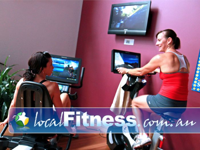 Genesis Fitness Clubs Near Murrumba Downs Engage your mind with interactive game style cycling.