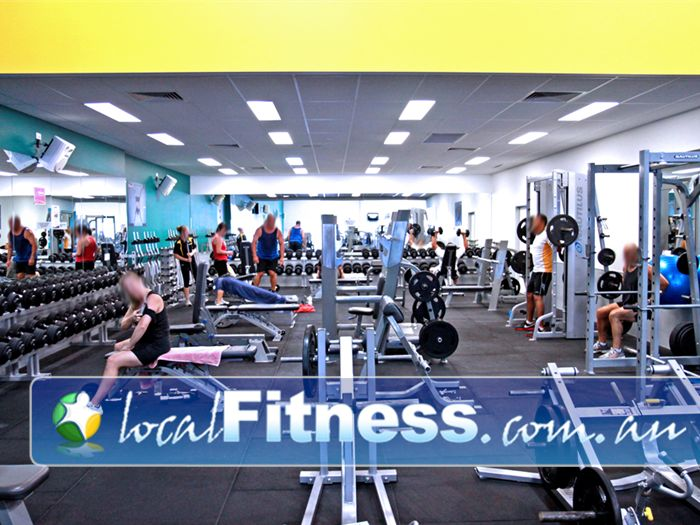 Genesis Fitness Clubs Lawnton Our Lawnton gym has a wide selection of free-weights and machines.