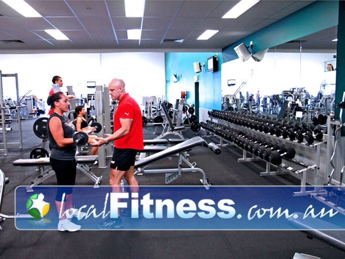 Genesis Fitness Clubs Near Petrie Our Lawnton gym includes Benches, dumbbells, barbells and more.