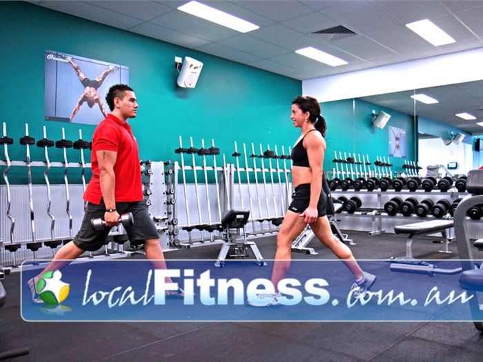 Genesis Fitness Clubs Near Murrumba Downs Lawnton personal trainers can incorporate free-weights into your training.