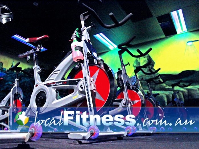 Genesis Fitness Clubs Near Petrie The latest Schwinn IC Pro Indoor Cycling Bikes.