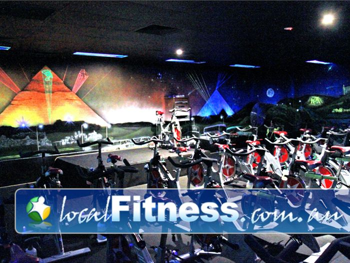 Genesis Fitness Clubs Near Murrumba Downs The state of the art Genesis Lawnton cycle studio.