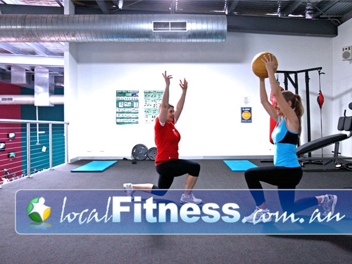Genesis Fitness Clubs Lawnton Fully equipped with fit balls, medicine balls, stretching mats and more.