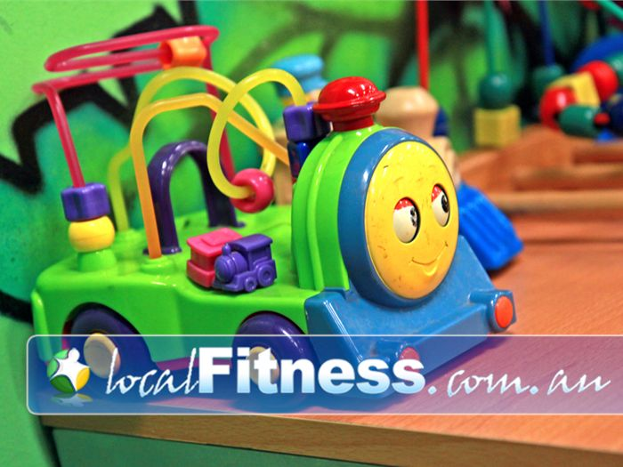 Genesis Fitness Clubs Lawnton Plenty of toys and activities to keep your kids amused.