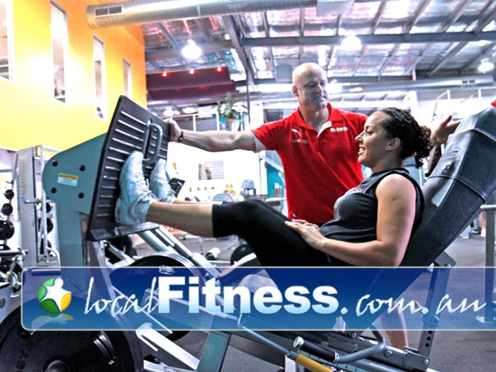 Genesis Fitness Clubs Lawnton Our Lawnton personal trainers can take you through a strength training program.