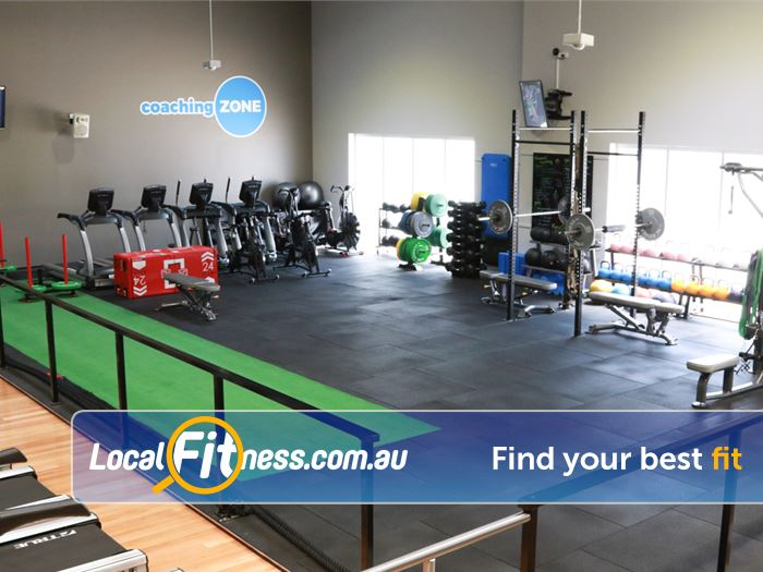 Genesis Fitness Clubs Near Petrie The Lawnton HIIT gym / freestyle / functional training coaching zone.