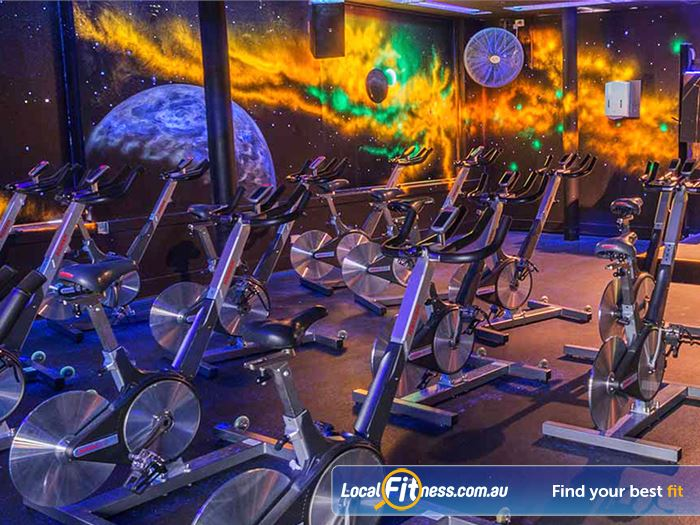Goodlife Health Clubs Gym Burnside    An extensive range of dumbbell and barbell equipment