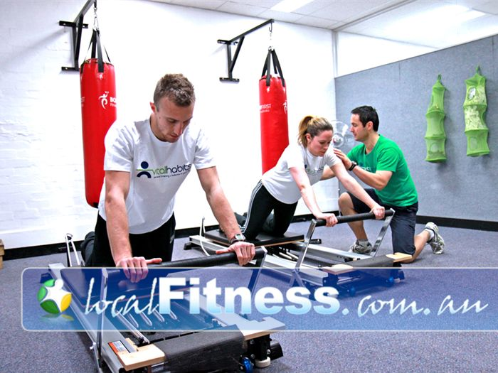 Vital Habits Personal Training Gym Malvern East  | Strengthen your core with Pilates at Vital Habits