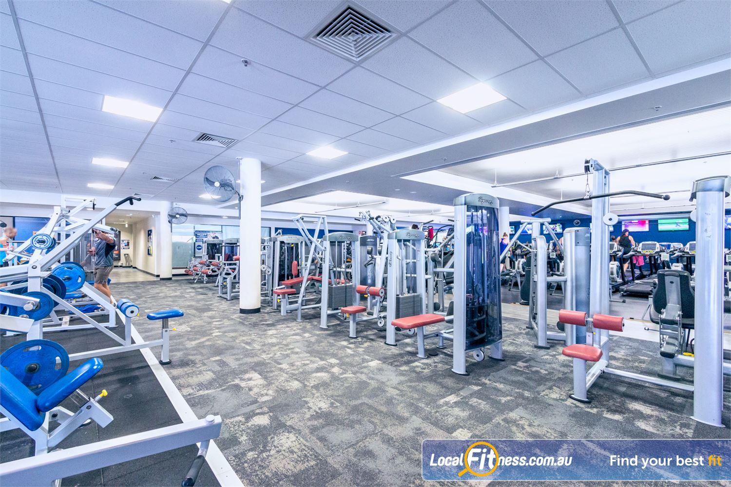 Goodlife Health Clubs Fortitude Valley Our Fortitude Valley gym provides state of the art Calgym and Life Fitness equipment.