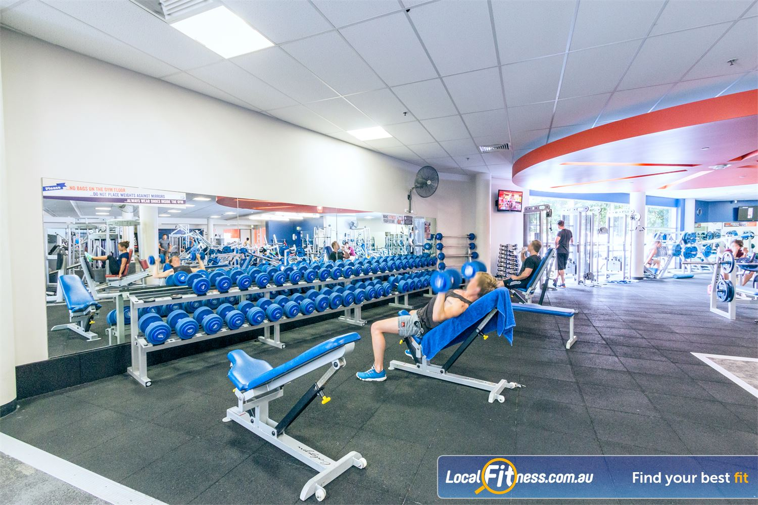 Goodlife Health Clubs Near Herston At our Fortitude Valley gym, pick from a large selection of free-weights.