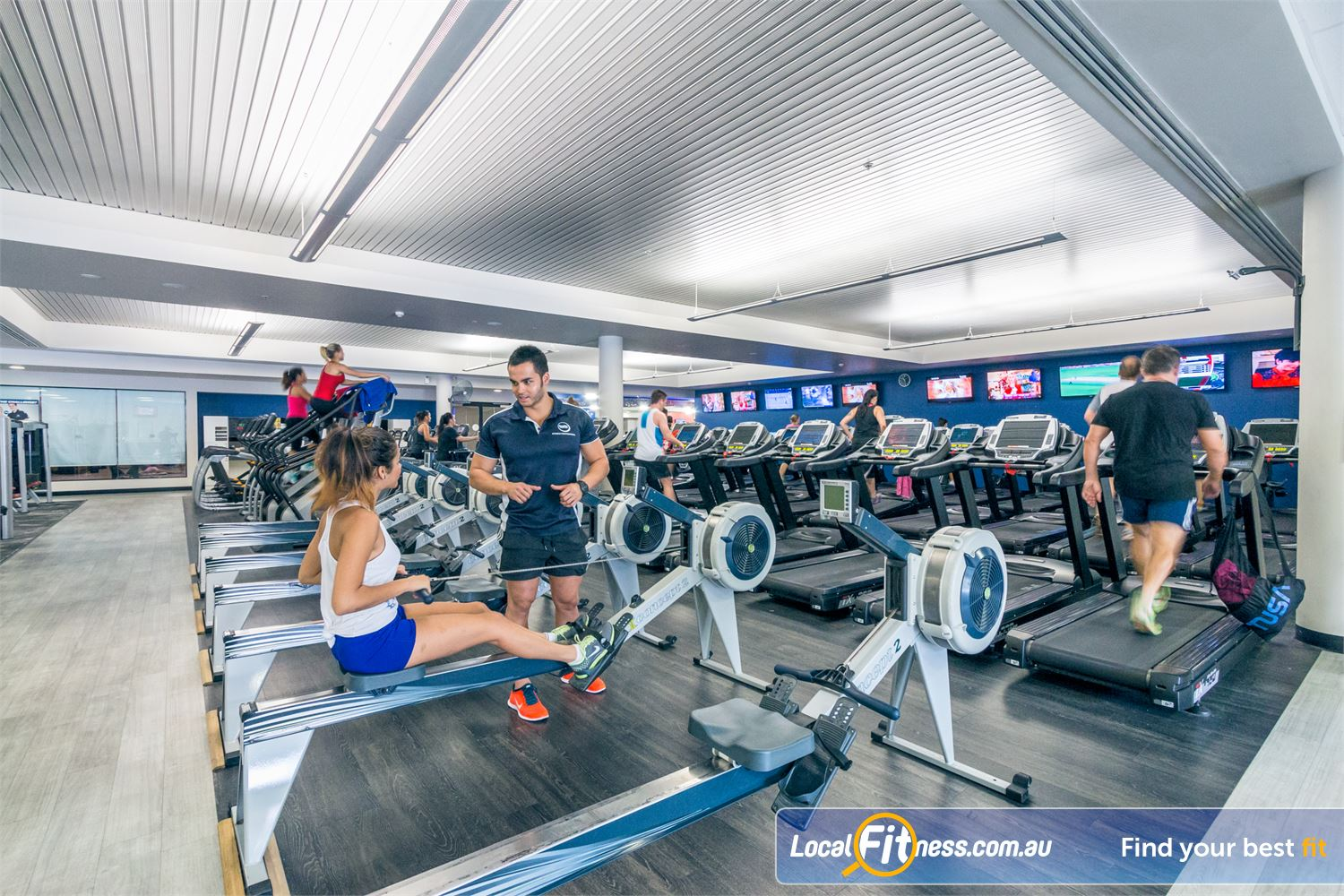 Goodlife Health Clubs Near Newstead Fortitude Valley personal trainers can design a ladies only and weight-loos program for you.