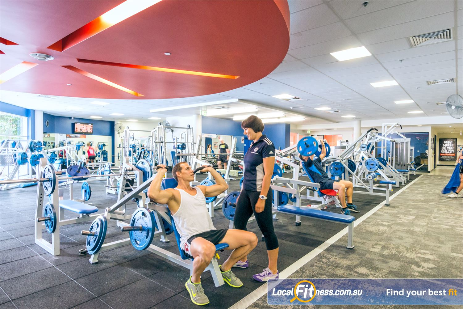 Goodlife Health Clubs Fortitude Valley Our Fortitude Valley gym provides a wide selection of easy to use plate-loaded equipment.