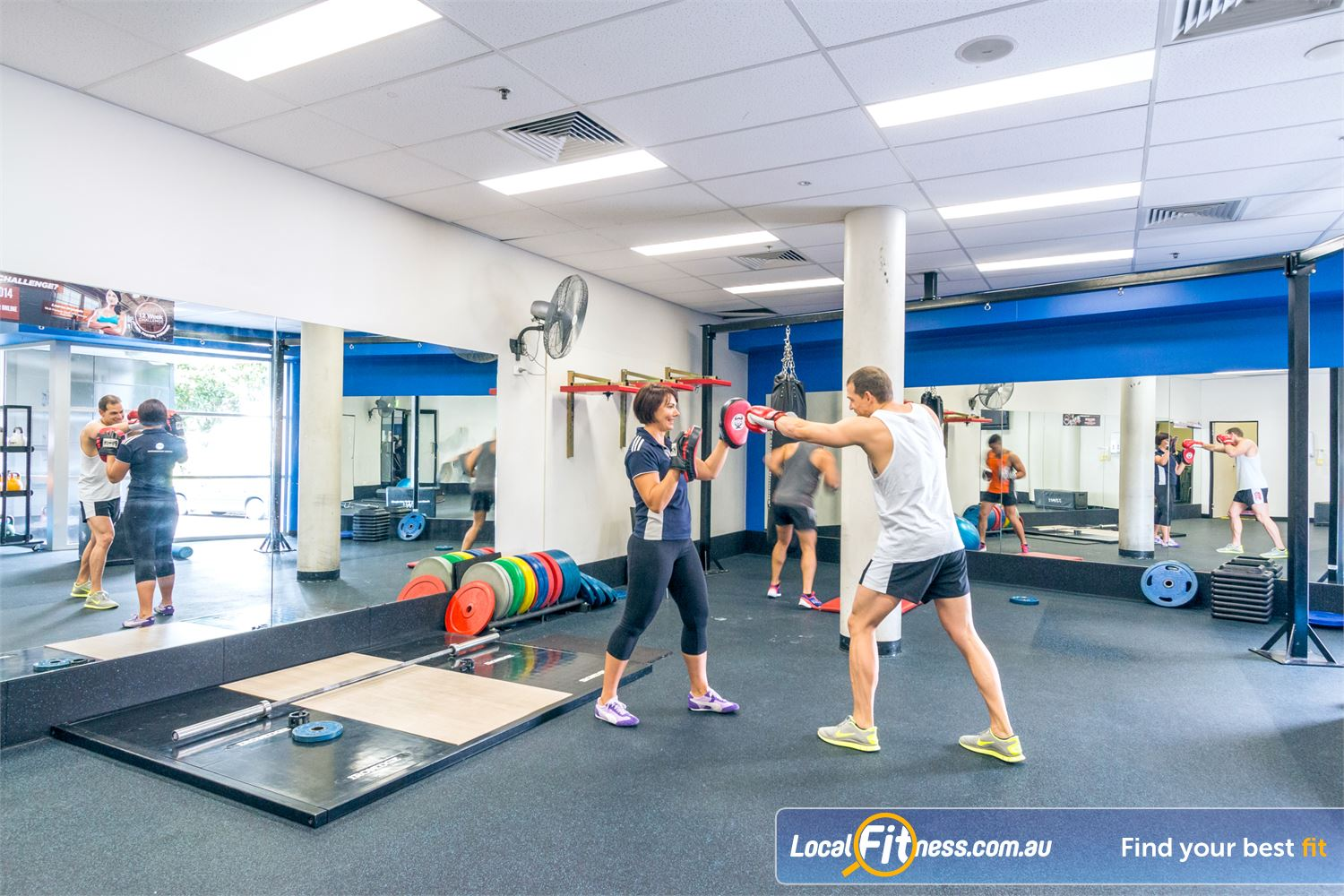 Goodlife Health Clubs Fortitude Valley Enjoy cardio boxing in our dedicated Fortitude Valley boxing studio.
