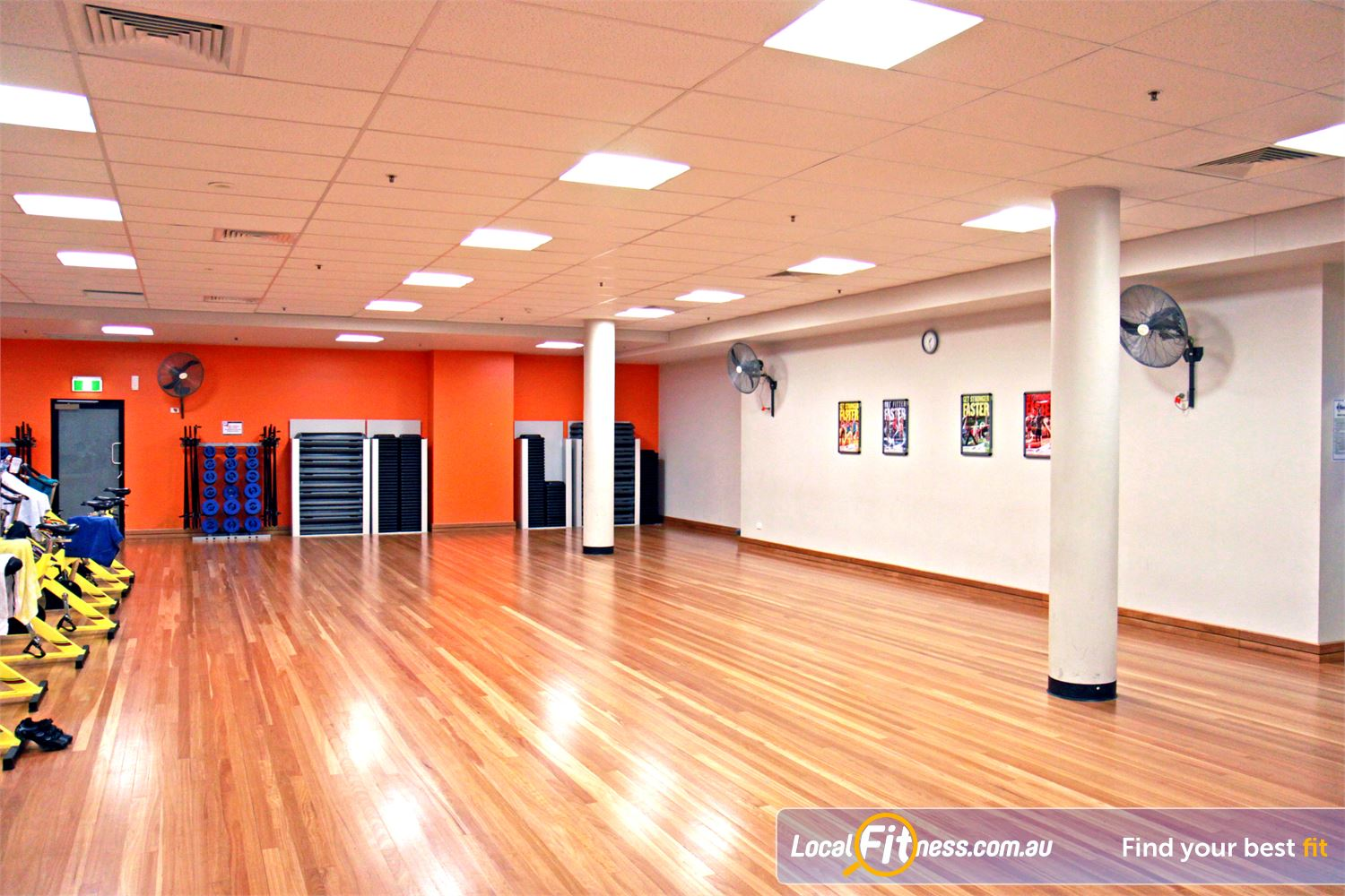 Goodlife Health Clubs Near Herston The dedicated and spacious Fortitude Valley group fitness studio.
